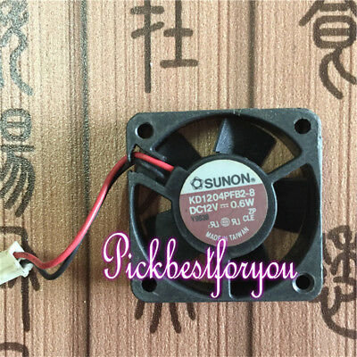 1pc SUNON KD1204PFB2 40x40x10mm 4010 DC 12V 0.9W Cooling Fan 2pin Connector