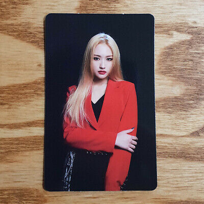 Siyeon Official Photocard Dream Catcher 4th Mini Album The End of Nightmare
