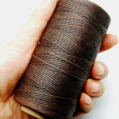 1pc Sewing Waxed Thread 150D 1mm Nylon Hand Stitching Cord for Leather Craft DIY