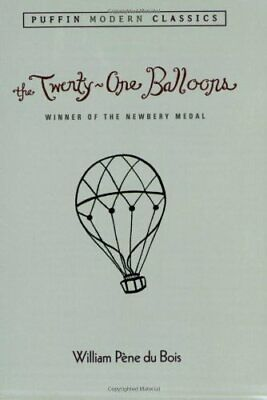 The Twenty-One Balloons (Puffin Modern Classics), Bos 9780142403303 New..