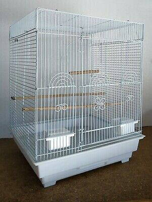 Brand New Bird Budgie Canary Parakeet Cockatiel Finch Cage w Toy Swing * ED801