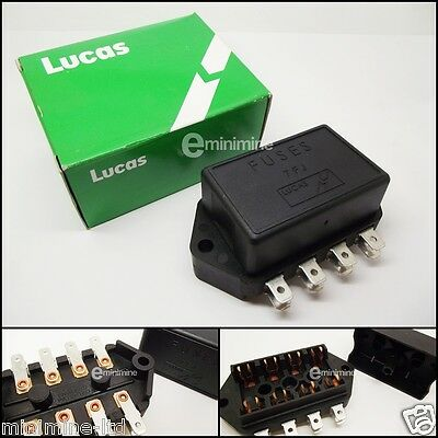 Business, Office & Industrial GENUINE LUCAS 37552 7FJ 4 WAY FUSE BOX HOLDER FOR GLASS FUSES MG TRIUMPH AUSTIN