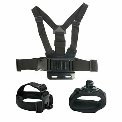 Harness Head + Chest Strap Mount for GoPro Hero 5 4 3+ 3 2 1 Chesty Accessories
