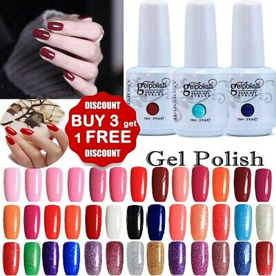 15ML GEL LAB Soak Off  UV LED Gel Polish Base Top Coat Manicure Varnish Lacquer_