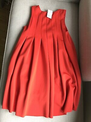H&M Red Dress With Tags Size 8