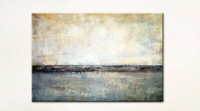 Modern Abstract Home Decor Art Wall HandPainted Simple Oil Painting Canvas Gift