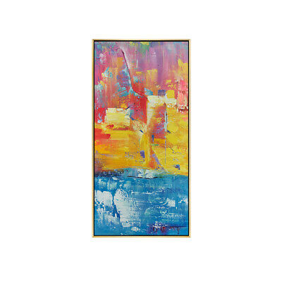 Huge Modern Abstract Color Hand Painted Oil Painting Nordic Home Decor On Canvas