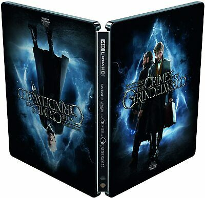 Fantastic Beasts 2: The Crimes of Grindelwald (4K Ultra HD Steelbook) Potter