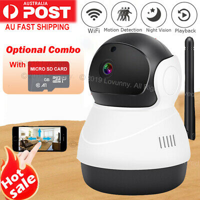 HD 1080P Wireless IP Camera Home CCTV Security System Network Night Vision WiFi