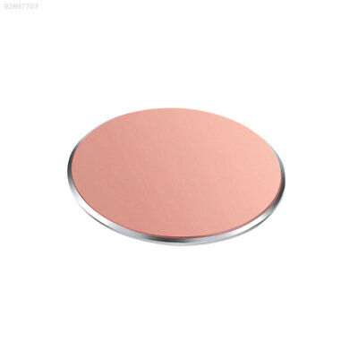 C3C8 Ultrathin Magnetic Metal Plate Car Phone Mount Cellphone Round Rose Gold