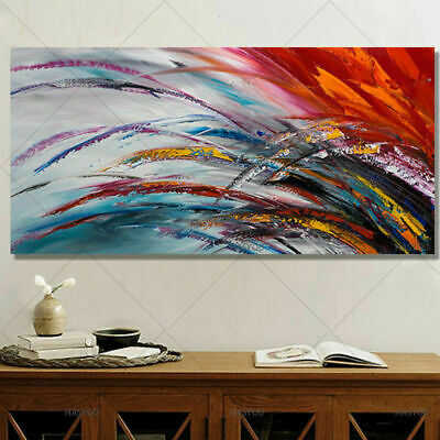 Hand Painted Morden Abstract Canvas Oil Painting Wall Art Home Decor No frame