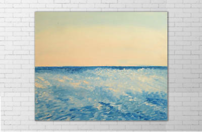 Modern Home Decor Wall HandPainted Seascape Oil Painting Abstract Art On Canvas