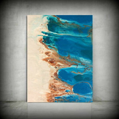 Abstract Seascapes HandPainted Oil Painting Modern Home Decor Wall Art Canvas