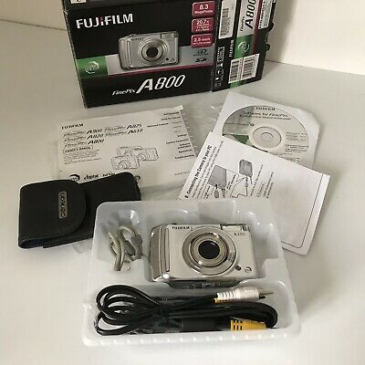 Fujifilm FinePix A800 8.3MP Digital Camera With 1GB XD & More Boxed