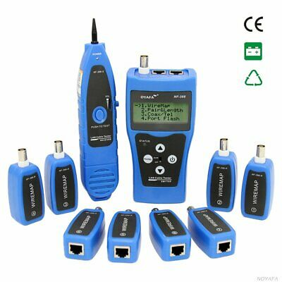 Noyafa Portable Wire Fault Locator Monitoring Network Cable Tester Line Finder