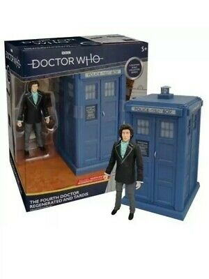 Doctor Who - Fourth Doctor Regenerated & Tardis Collector's Set *BRAND NEW*