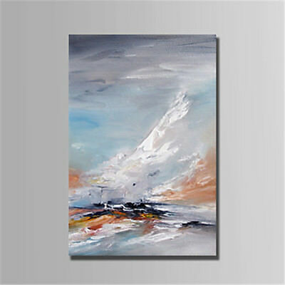 Abstract Art HandPainted Landscape Oil Painting Home Living Room Decor Canvas