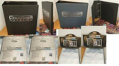 Ultra Pro Collectors Trading Card Ring Binder - 9 Pocket Page Fit - Choose