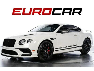 2017 Continental GT Supersports (1 of 710) 2017 BENTLEY SUPER SPORT, 1 of 710, FULL CARBON EXTERIOR PACK.