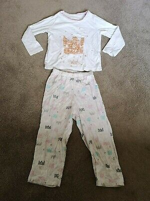 TU Girls Rise And Shine Princess Night Pyjamas Size 18-24 months