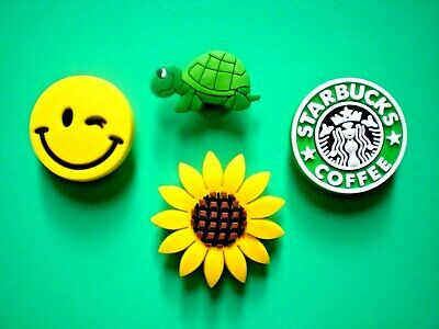 The Cheapest Price Clog Jibbitz Charm Shoe Plug Accessories Sandal Peace Sign Sun Flower Smile Fashion Jewelry