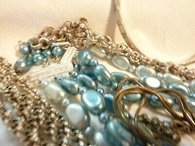 vintage lot of jewellery 10 items all ready to wear grab a bargain LOOK!!!