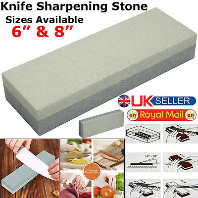 Doublesided Whetstone Knife Sharpener Fine Medium Grit Whetstone Water Wet Stone