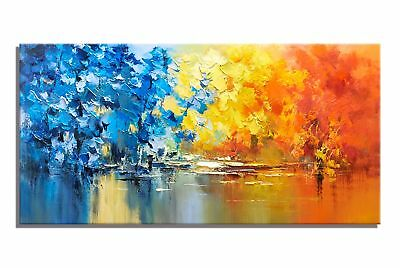 Modern Pure HandPainted Abstract Oil Painting Home Decor Art Wall On Canvas