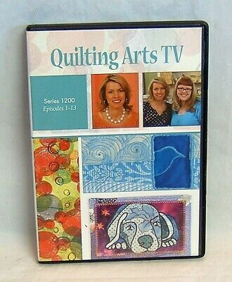 Dvd Only Quilting Arts Tv Series 1200 With Patricia Pokey