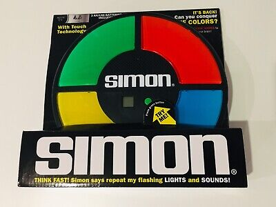 Simon Electronic Toy Game Light Sounds Memory Classic Pattern Touch Game New!