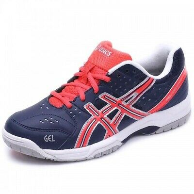 ASICS GEL DEDICATE 4 Clay E558Y Lace Up White Silver Ladies