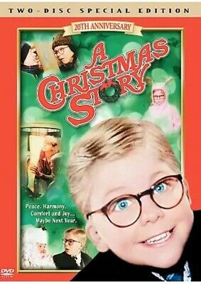 A Christmas Story Two-Disc Special Edition DVD Daisy Red Ryder Leg Lamp New