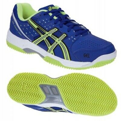 Womens Asics Gel Padel Pro 2 SG E462Y 4270 Lace Up Blue Lime Ladies Trainers