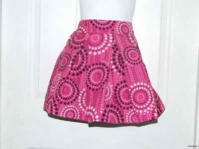 Girls Osh Kosh B'gosh Pink w/Pink & Black Polka Dots Skirt 6X