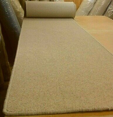 80% WOOL WHIPPED BUDGET FEATURE STAIR RUNNER 66cm x 8metres HEAVY TWIST PILE
