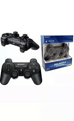 Sony PlayStation Ps3 3 Controller. Wireless Sony Dual Shock PS3 Game Pad.