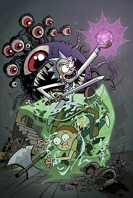 Rick and Morty Poster SKU 40521