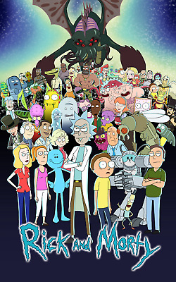 Rick and Morty Poster SKU 40590