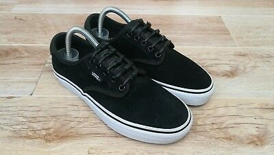 48f0a30308d3 Rare Vans Pro Era Uk 5.5 Black Chima Ferguson Skate Low Trainers Hickies  Laces