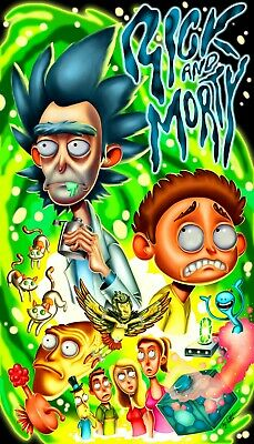 Rick and Morty Poster SKU 40640