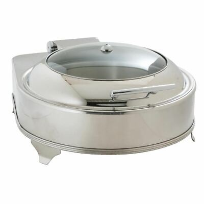 Olympia Round Electric Chafer Food Warmer - Easy to Open and Reseal - 6L