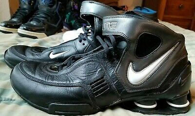 6d5d2fea957 2006 Nike Shox Elite Size 12 Men s Basketball Shoes Black White 314184-010  Fast