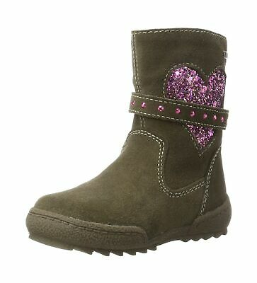 official photos 65d6b 17e09 LURCHI GIRLS' LINNI-TEX Slouch Boots Beige (Bungee 27) 9.5 UK Child