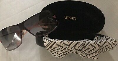 53e4daa77b4e Versace Authentic Italy Pink Metal Gradient Oversize Sunglasses 2048 1115 8G