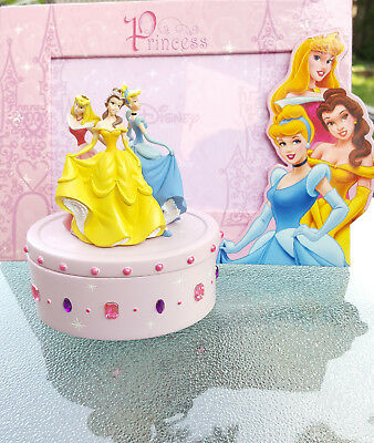 Disney Princess Jewelry Box and Picture Frame