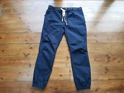 BEAMS PLUS ENGINEERED GYM PANTS, NAVY, RIPSTOP, SIZE XL 34 inch waist