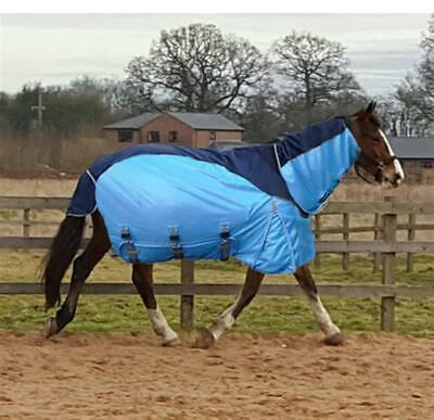 2 In 1 Horse Fly Rug Turnout Belly Flap Waterproof Upper All