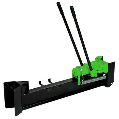 Charles Bentley 10 Ton Hand Operated Heavy Duty Hydraulic Log Splitter - Green