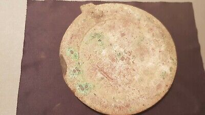 Stunning ultra rare huge heavy Bronze Roman mirror A must read description L127b