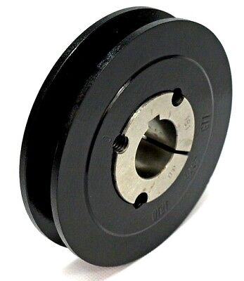 SPA A Section V Vee Belt Pulley 1 Groove With Taper Bush 100mm-190mm PCD